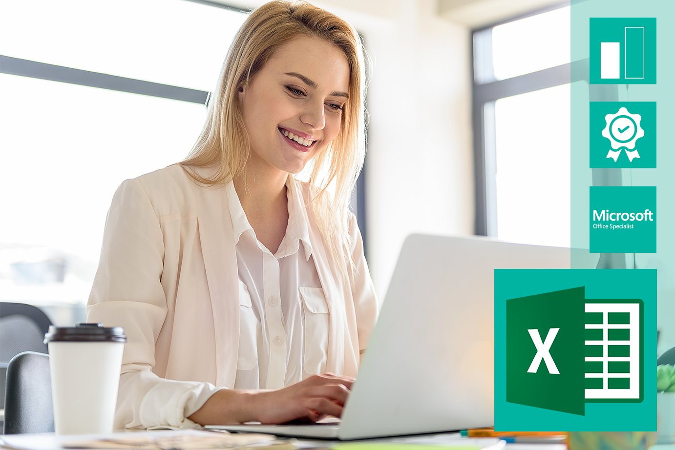 Microsoft Office Specialist - Microsoft Excel 2016 Core video-based Training zu Microsoft Office Specialist - Microsoft Excel 2016 Core